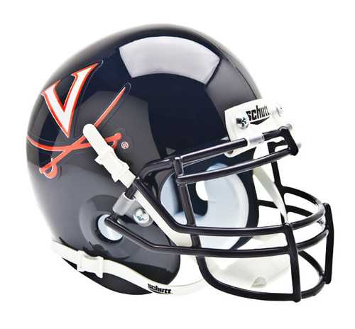 Virginia Cavaliers Schutt Mini Authentic Football Helmet