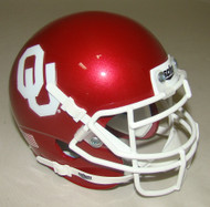 Oklahoma Sooners Schutt Mini Authentic Football Helmet
