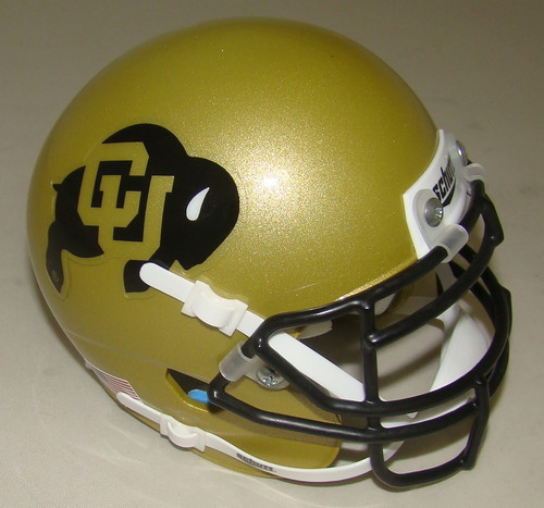 Colorado Buffaloes Schutt Mini Authentic Football Helmet