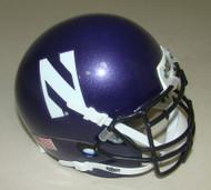 Northwestern Wildcats Schutt Mini Authentic Football Helmet
