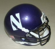 Northwestern Wildcats Schutt Mini Authentic Football Helmet