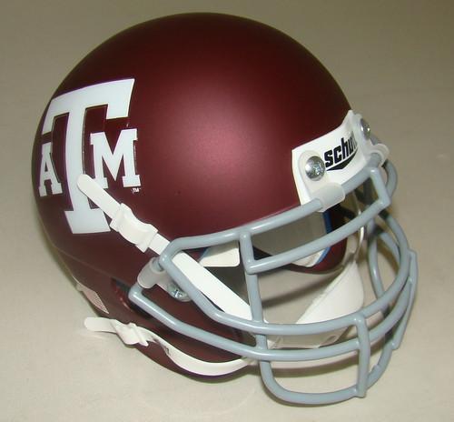 Texas A&M Aggies Schutt Mini Authentic Football Helmet