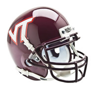 Virginia Tech Hokies Schutt Mini Authentic Helmet