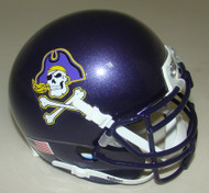 East Carolina Pirates Schutt Mini Authentic Football Helmet