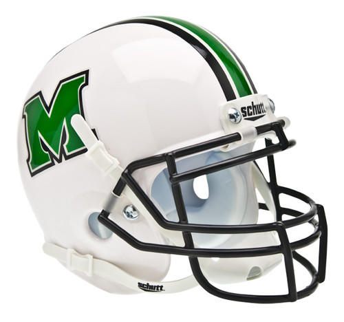 Marshall Thundering Herd Schutt Mini Authentic Football Helmet
