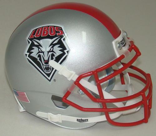 New Mexico Lobos Schutt Mini Authentic Football Helmet