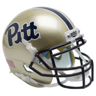 Pittsburgh Panthers Script Schutt Mini Authentic Football Helmet