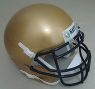Navy Midshipmen Schutt Mini Authentic Football Helmet