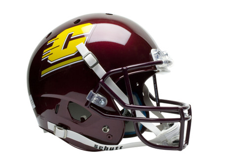 Central Michigan Chippewas Schutt Full Size Replica XP Football Helmet