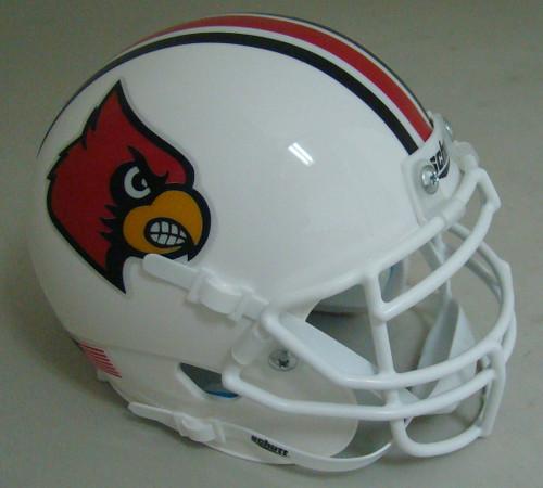 Louisville Cardinals Schutt Mini Authentic Football Helmet
