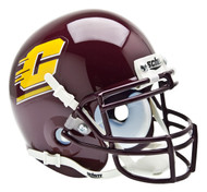 Central Michigan Chippewas Schutt Mini Authentic Football Helmet