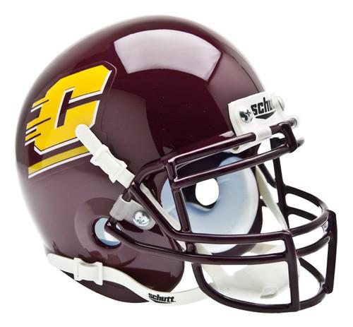 Central Michigan Chippewas Schutt Mini Authentic Football Helmet