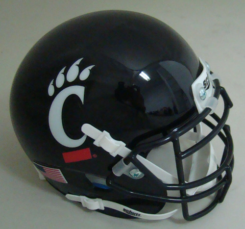 Cincinnati Bearcats Schutt Mini Authentic Football Helmet