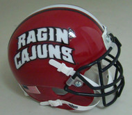 Louisiana-Lafayette Ragin Cajuns Schutt Mini Authentic Football Helmet