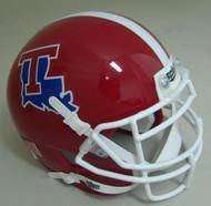 Louisiana Tech Bulldogs Schutt Mini Authentic Football Helmet