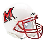 Miami-Ohio Redhawks Schutt Mini Authentic Helmet