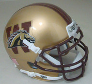 Western Michigan Broncos Schutt Mini Authentic Football Helmet