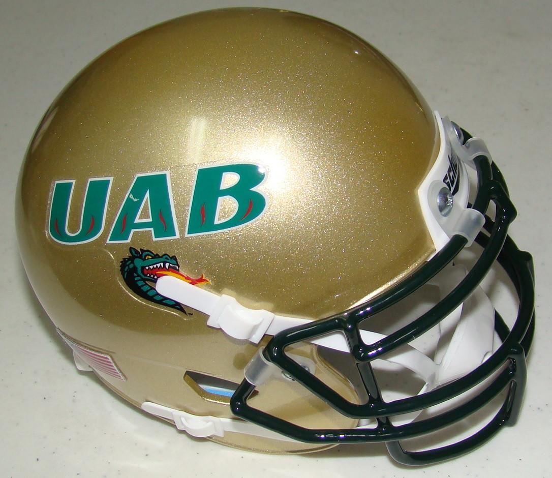 786b165a6bb UAB Alabama-Birmingham Blazers Schutt Mini Authentic Helmet. Schutt · Image  1