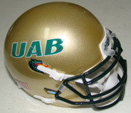 UAB Alabama-Birmingham Blazers Schutt Mini Authentic Football Helmet
