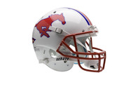 Southern Methodist SMU Mustangs Schutt Full Size Replica Helmet