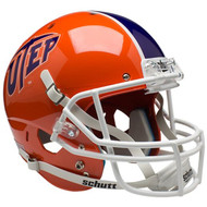 Texas El Paso UTEP Miners Schutt Full Size Replica XP Football Helmet