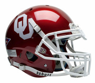 Oklahoma Sooners Schutt Full Size Authentic Helmet