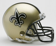 New Orleans Saints Riddell Mini Helmet