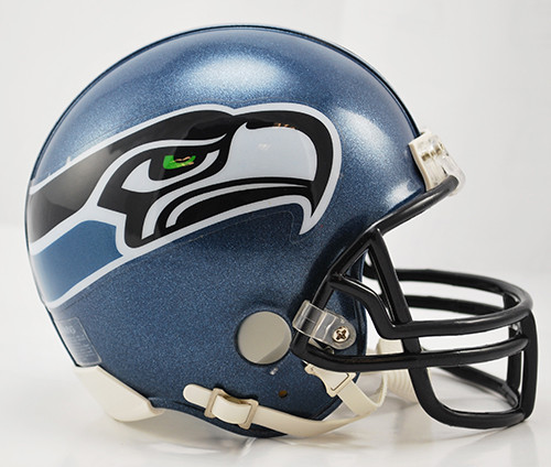 Seattle Seahawks 2002 2011 Throwback Riddell Mini Helmet