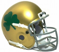 Notre Dame Fighting Irish 1962 Schutt Throwback Mini Authentic Helmet