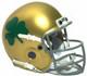 Notre Dame Fighting Irish 1962 Schutt Throwback Mini Authentic Football Helmet