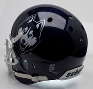 Connecticut Huskies Schutt Full Size Replica Football Helmet