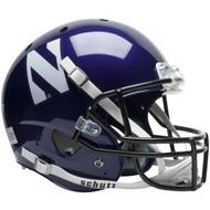 Northwestern Wildcats Schutt Full Size Replica Helmet