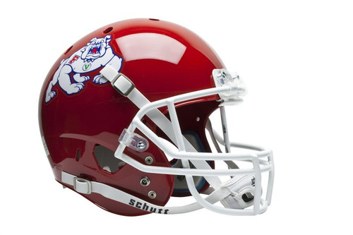 Fresno State Bulldogs Schutt Full Size Replica XP Football Helmet