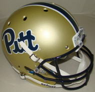 Pittsburgh Panthers Script Schutt Full Size Replica XP Football Helmet