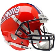 Illinois Fighting Illini Schutt Full Size Replica XP Football Helmet