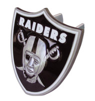 LAS VEGAS RAIDERS LARGE NFL TRUCK TRAILER HITCH COVER