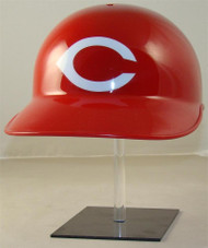 Cincinnati Reds Rawlings All Red Throwback Full Size Baseball Batting Helmet