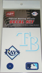 Tampa Bay Rays Batting Helmet Rawlings Decal Kit
