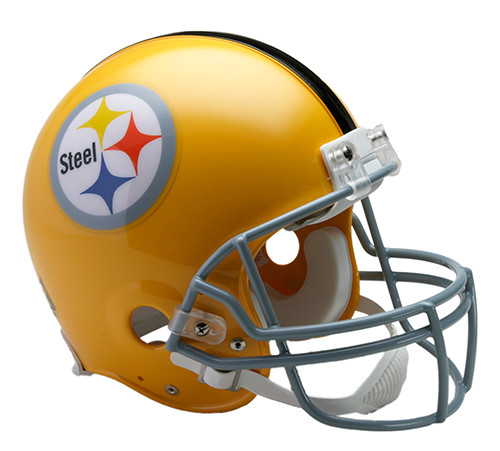 Pittsburgh Steelers 1962 Throwback Riddell Full Size Authentic Helmet.  Riddell. Image 1 131a033326dc