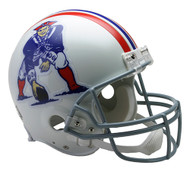New England Patriots 1965-81 Throwback Riddell Full Size Authentic Helmet