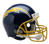 San Diego Chargers 1974-87 Throwback Riddell Full Size Authentic Helmet