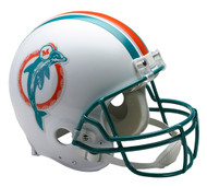Miami Dolphins 1980-96 Throwback Riddell Full Size Authentic Helmet