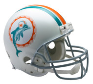 Miami Dolphins 1972 Throwback Riddell Full Size Authentic Helmet