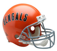 Cincinnati Bengals 1968-79 Throwback Riddell Full Size Authentic Helmet