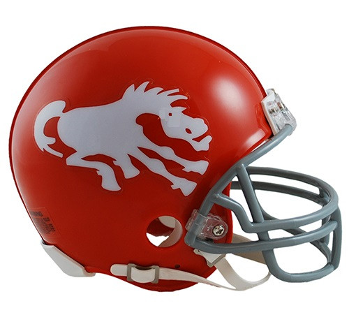 Denver Broncos 1962-65 Riddell Mini Football Helmet