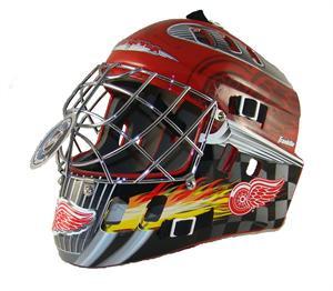 Detroit Red Wings Nhl Mini Hockey Goalie Mask