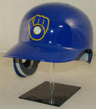 Milwaukee Brewers Rawlings REC Throwback Full Size Baseball Batting Helmet