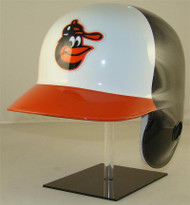 Baltimore Orioles Rawlings Throwback LEC Full Size Baseball Batting Helmet