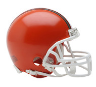 Cleveland Browns 1975 - 2005 Riddell Mini Football Helmet
