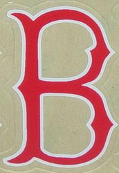 BOSTON RED SOX FULL SIZE HELMET 3M STICKER DECAL